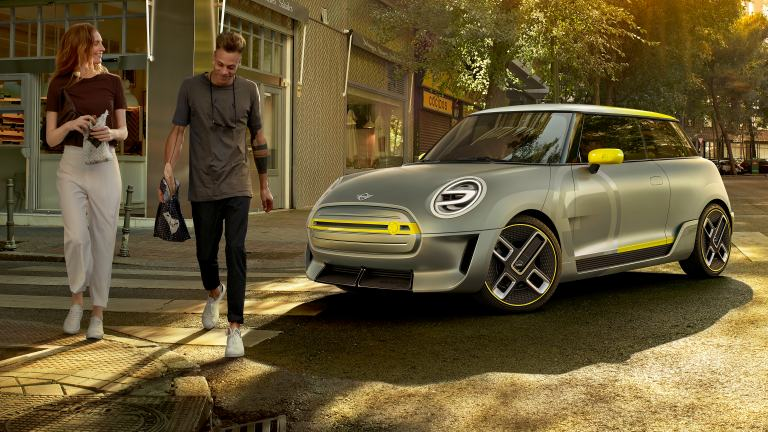 MINI Electric Concept – elölnézet
